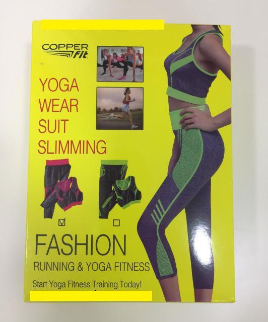Одежда для фитнеса, йоги, бега Yoga Wear a Suit  Slimming (легинсы + майка)