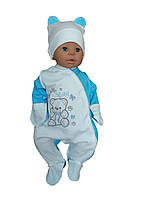 Комплект для новорожденного 2-х предмет. (интерлок), фото 1