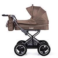 Универсальная прогулочная коляска 2в1 бежевая TILLY Family T-181 Beige деткам от рождения до 3 лет