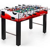 Настольный футбол игровой, профессиональный Hop-Sport Orlik white/red для дома