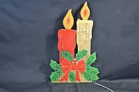 Новогоднее украшение на окна или под елку.