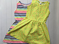 Набор детских летних платьев для девочки 9-10 лет Размер 140