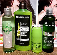 Ив Роше Подарочный Набор для тела и волос с весенним легким ароматом Зеленого Чая и Лимона