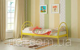 Металева ліжко Аліса 80х190 див. Мадера