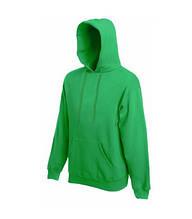 Толстовка на флисе с капюшоном - 62208-47 ярко-зеленая