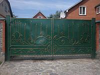 Кованые накладки на ворота