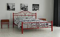 Металлическая кровать Элиз 80х190 см. Мадера