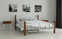 Металлическая кровать Изабелла 80х190 см. Мадера