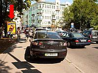Ситилайт аренда г. Киев, Львовская пл. (территория парка, между ул. Ярославов Вал и ул. Рейтарская), в сторону ул. Владимирская