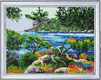 Набор для вышивания бисером Райский уголок БФ 327