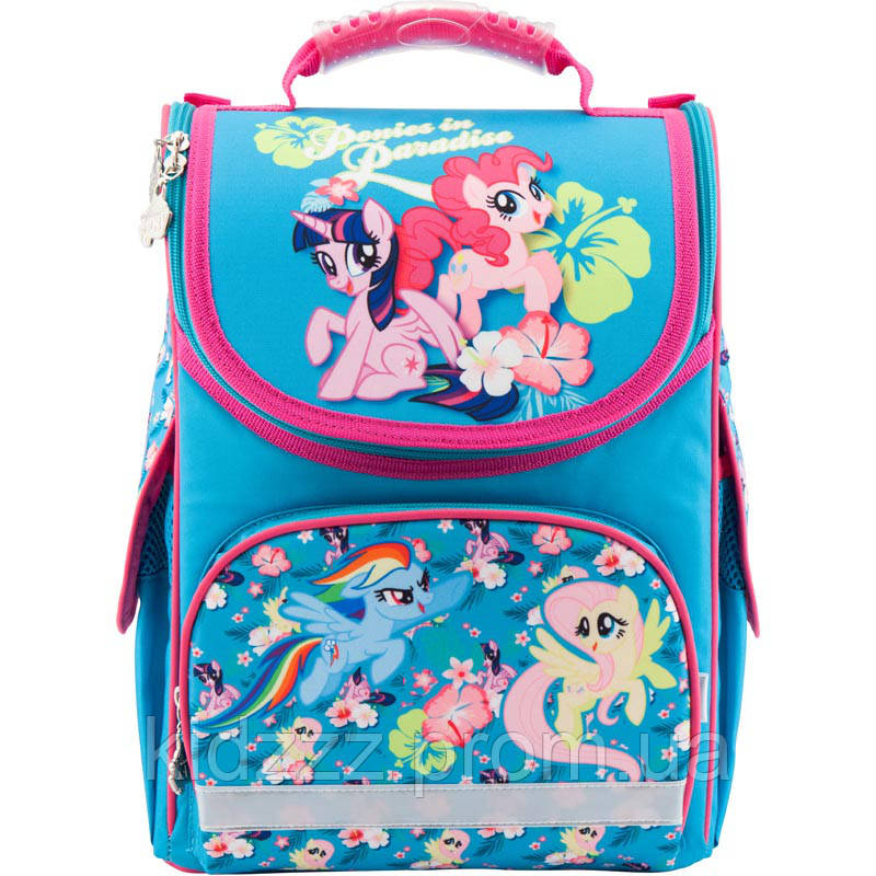 Рюкзак школьный каркасный Kite My Little Pony Мой маленький пони Kite  (Кайт)