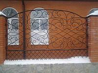 Кованый забор ажурный