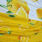 Полуторное постельное белье, Апельсин, сатин 100%хлопок , фото 4