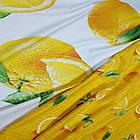 Полуторное постельное белье, Апельсин, сатин 100%хлопок , фото 3