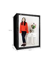 LED Studio Box ZD-160 (лайтбокс, фотобокс, лайткуб, лайтрум для каталожной и предметной съемки), фото 3