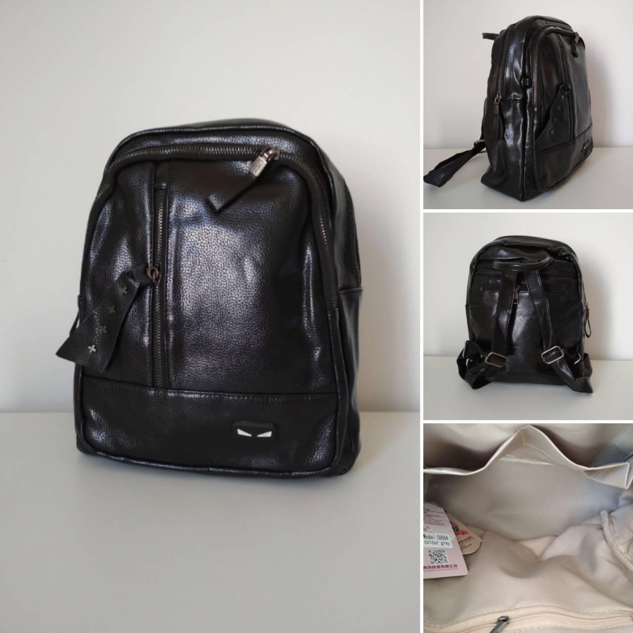 Рюкзак городской для девушки (девочки) кожзам размер 33x25x15