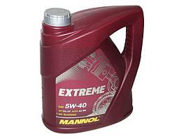 Масло моторное синтетика MANNOL Extreme 5W-40 4L SN/CF