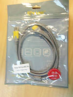 USB подовжувач 1,5 м сірий з фільтром