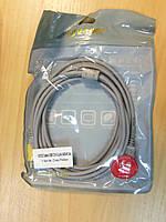 USB подовжувач 3м сірий з фільтром