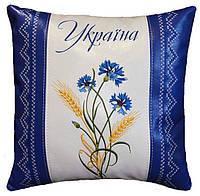 Подушка сувенирная с украинской вышивкой, фото 1