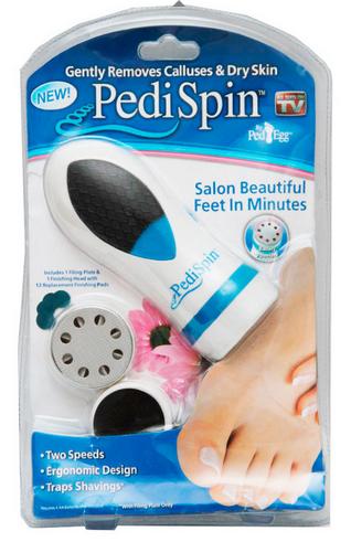 Набор для педикюра Pedi Spin (12 насадок)