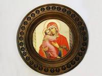 Тарелка-иконка большая (Картины, панно)