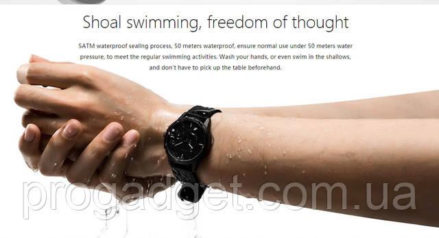 Smart Watch Lenovo Watch 9 Black - черный Оригинальные водостойкие умные часы!