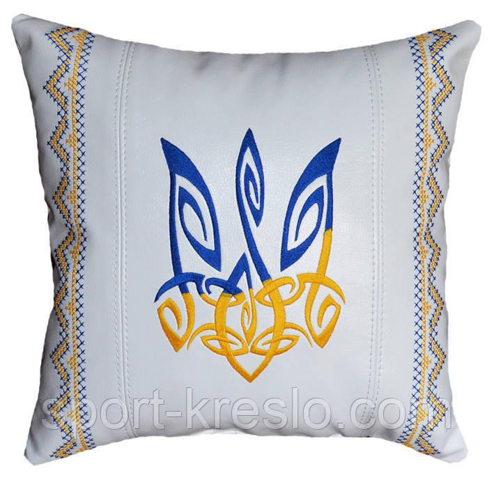Подушка сувенірна з тризубом