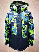 Зимняя куртка с меховой подстежкой для мальчика