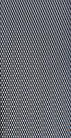 Sahler №1, 100*40 см Защитно декоративная сетка для бампера и радиатора черная без упаковки