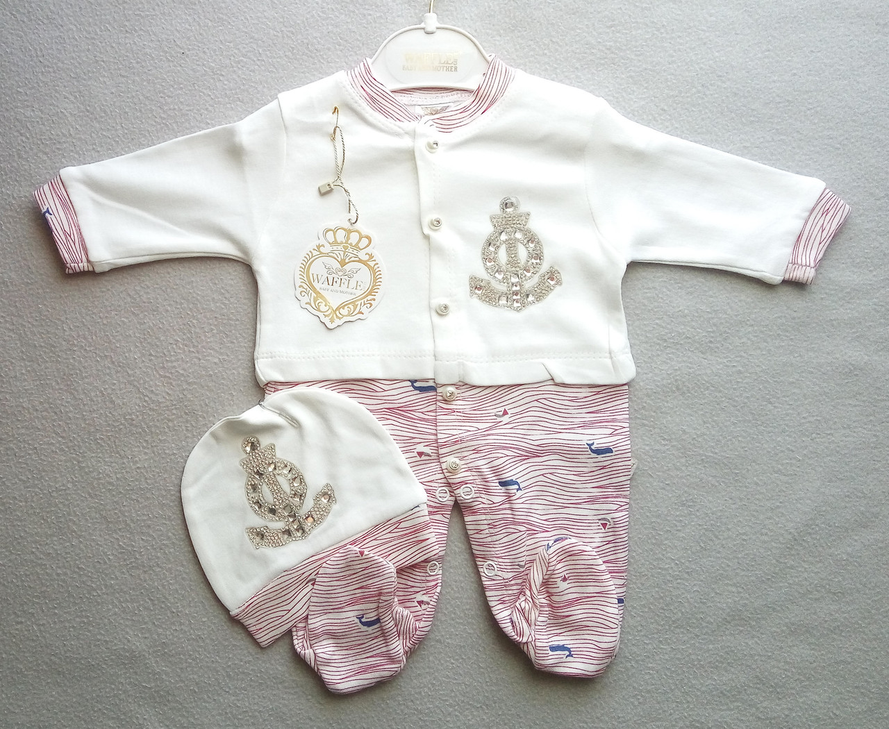 Нарядный человечек для новорожденных 3-9 месяцев
