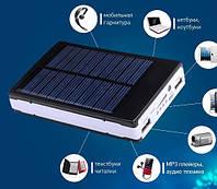 Power Bank 30000 mA c солнечной батареей+LED фонарь, фото 1