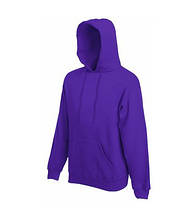 Толстовка на флисе с капюшоном - 62208-PE фиолетовая