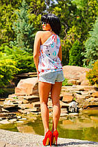 Женская летняя блузка без рукавов (0919 svt), фото 3