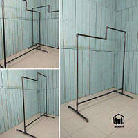 №24 Вешалка Loft для одежды из труб лофт, стойка торговое оборудование