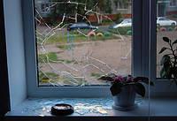 Замена стеклопакетов разбитых