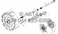 Механизм Сцепление на YTO-X854