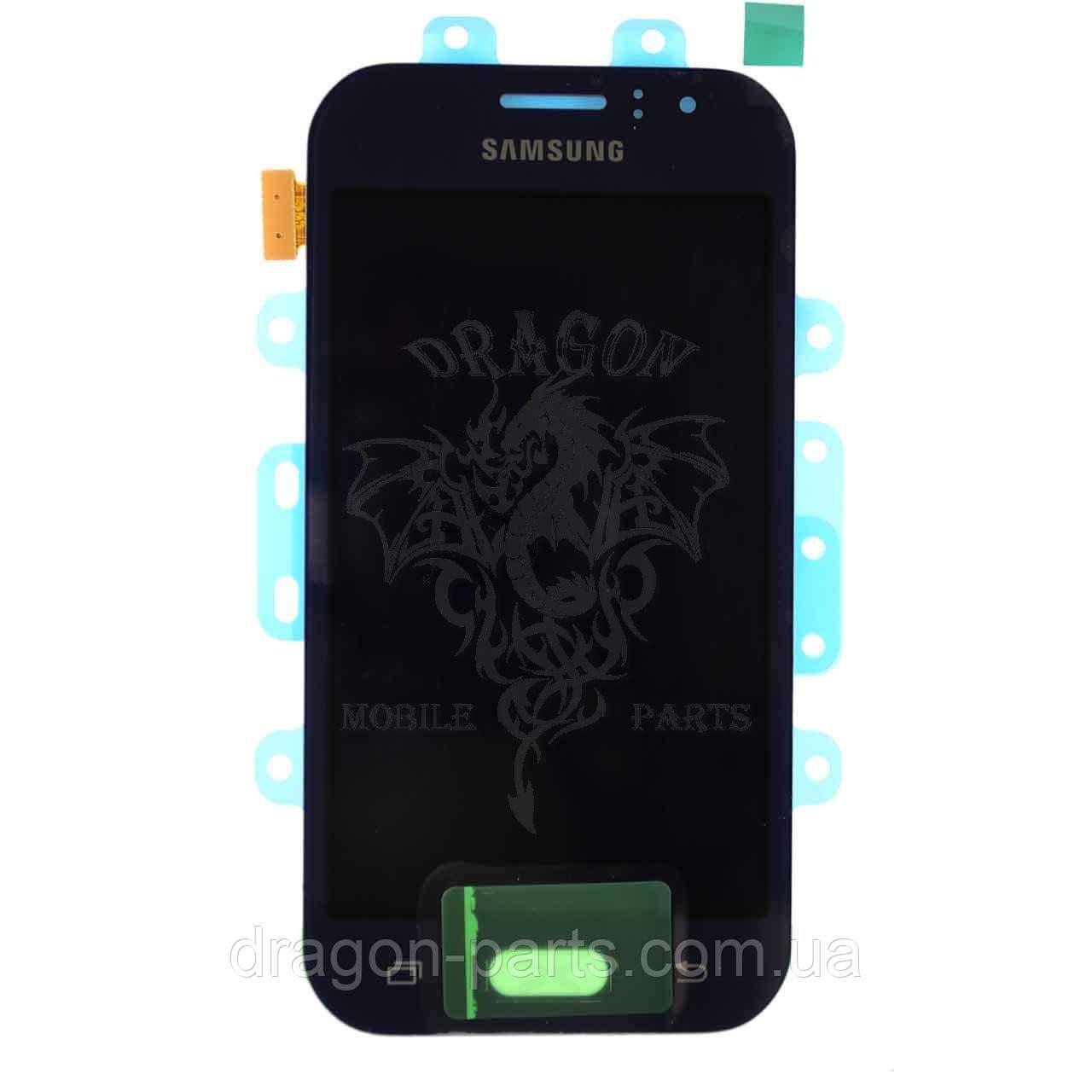 Дисплей Samsung J110 Galaxy J1 с сенсором Черный Black оригинал , GH97-17843B