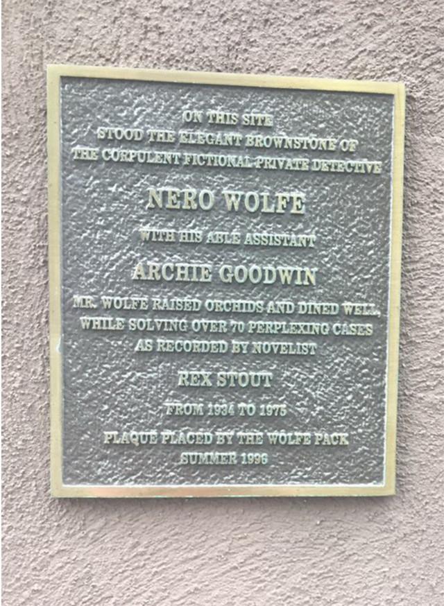 Раздел Платья - фото teens.ua - Нью-Йорк,39 улица,мемориальная доска про Ниро Вульфа,Арчи Гудвина и Рекса Стаута