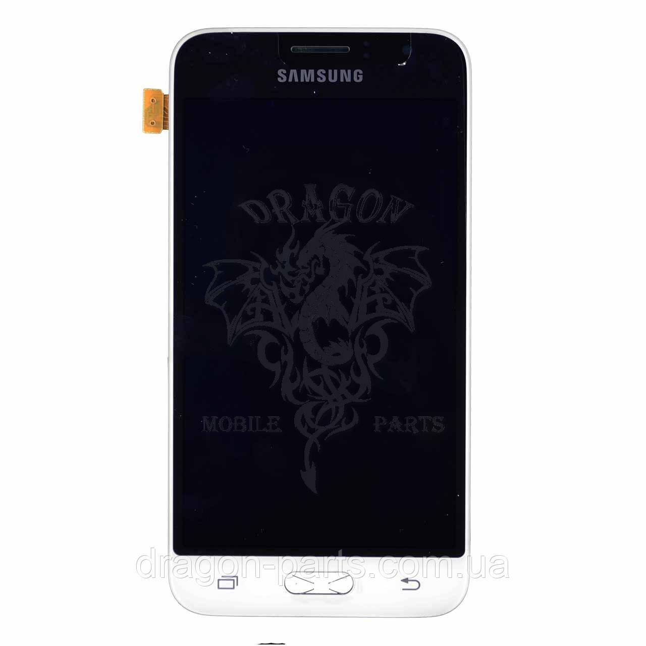 Дисплей Samsung J120 Galaxy J1 с сенсором Белый White оригинал , GH97-18224A - Интернет-магазин «Dragon Parts» в Киеве