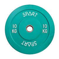 Бамперний кольоровий диск Spart 10 кг