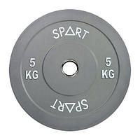 Бамперний кольоровий диск Spart 5 кг