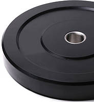 Бамперний чорний диск Spart 5 кг