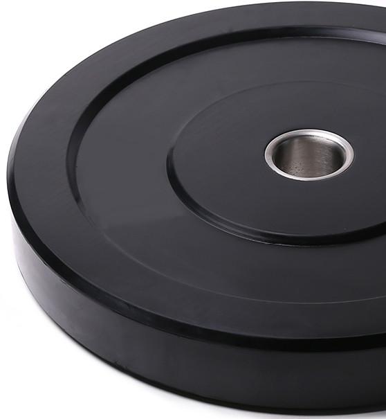 Бамперный черный диск Spart 10 кг