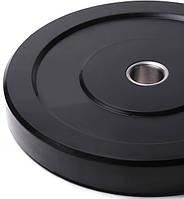 Бамперний чорний диск Spart 15 кг