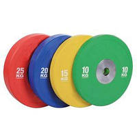 Бамперний кольоровий диск для змагань Spart 20 кг