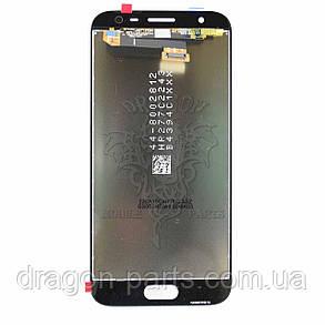 Дисплей Samsung J330 Galaxy J3 2017 с сенсором Серебряный Silver оригинал, GH96-10992A, фото 2