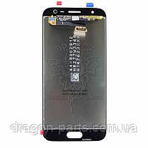 Дисплей Samsung J330 Galaxy J3 2017 с сенсором Золотой Gold оригинал, GH96-10990A, фото 2