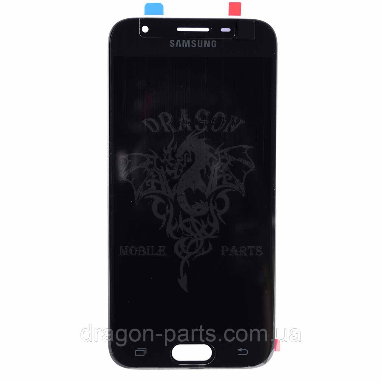 Дисплей Samsung J330 Galaxy J3 2017 с сенсором Черный Black оригинал , GH96-10969A