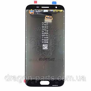 Дисплей Samsung J330 Galaxy J3 2017 с сенсором Черный Black оригинал , GH96-10969A, фото 2